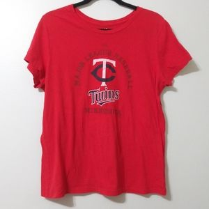 Minnesota twins baseball graphic t-shirt